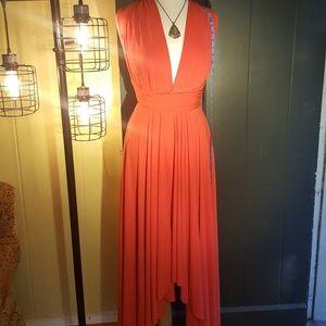Sexy Dress with Wrap/Tie Top